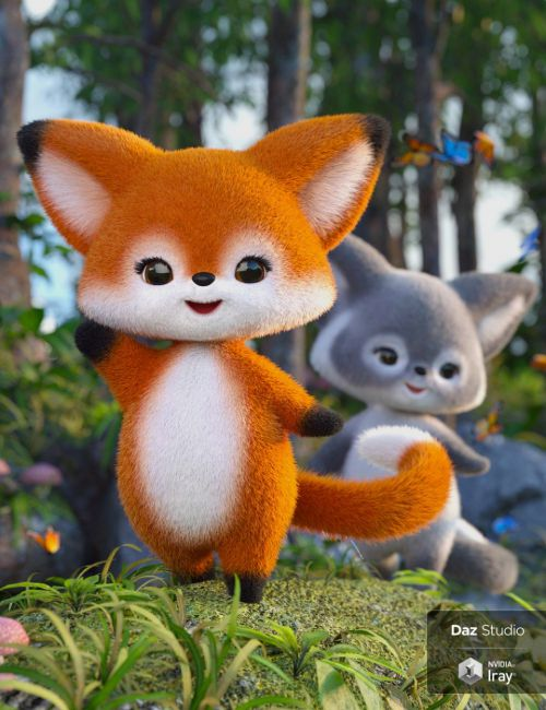 Scamp The Fox - Plushies 2.0