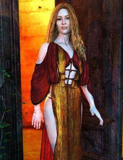 dForce Qabbalah Outfit for Genesis 8 Female(s)