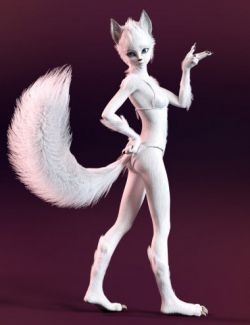 Foxy Lady With dForce Hair for Genesis 8 Female