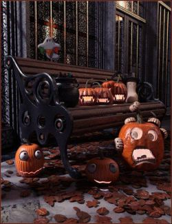 Halloween Whimsey Props