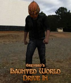 Greybro's Haunted World- Drive In HDRI