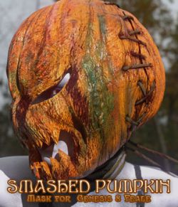 Smashed Pumpkin for Genesis 8 Female