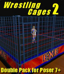 Cages 2 for Dex's Wrestling Set (poser 7+)