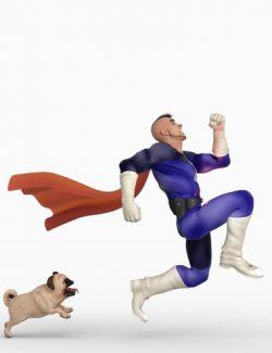 IGD Toon Hero Poses for Toon Hero and Genesis 8 Male
