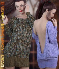 dforce- Comfy Sweater- Genesis 8
