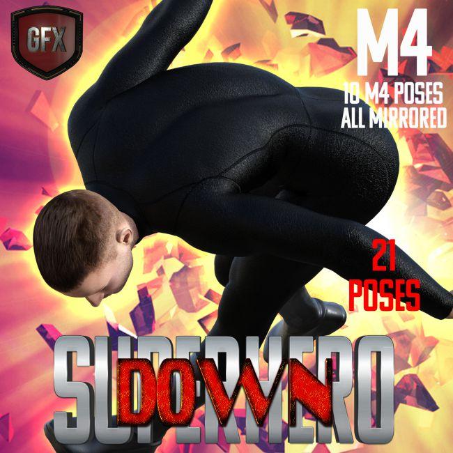 SuperHero Down for M4 Volume 1