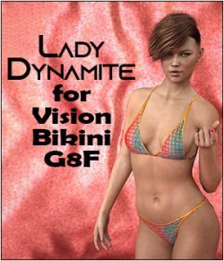 Lady Dynamite for Vision Bikini G8F