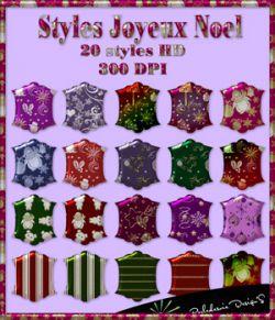 Styles Joyeux noel