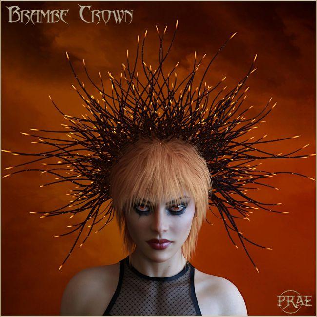 Prae-Bramble Crown For G3 G8 Daz