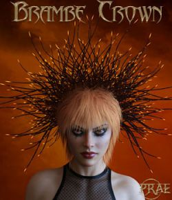 Prae-Bramble Crown For G3 G8 Daz