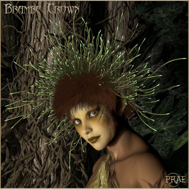 Prae-Bramble Crown For V4 M4 La Femme Poser