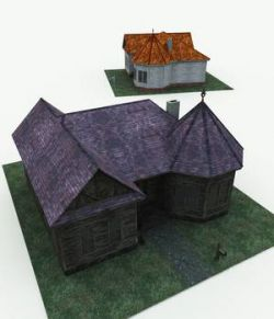 Haunted Cottage for Blender