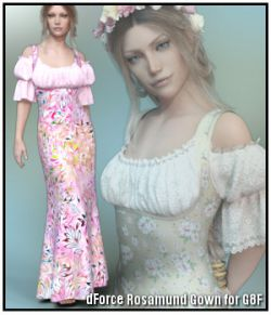 dForce - Rosamund Gown for G8F