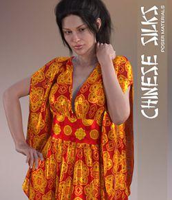 Daz Iray- Chinese Silks