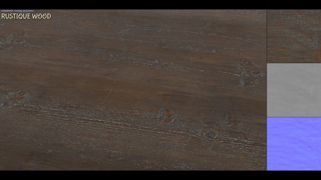 Panoramic Texture Resource: Rustique Wood