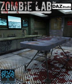 Zombie Lab for DAZ Studio