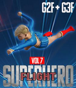 SuperHero Flight for G2F and G3F Volume 7