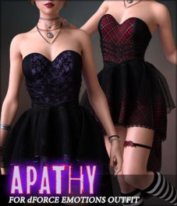 Apathy for dForce Emotions Outfit G8F
