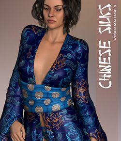 Poser- Chinese Silks