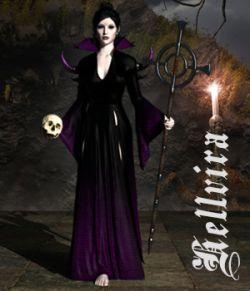 Hellvira dForce outfit for Genesis 8 Females