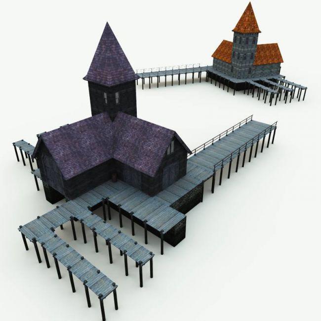 Haunted Docks for Vue