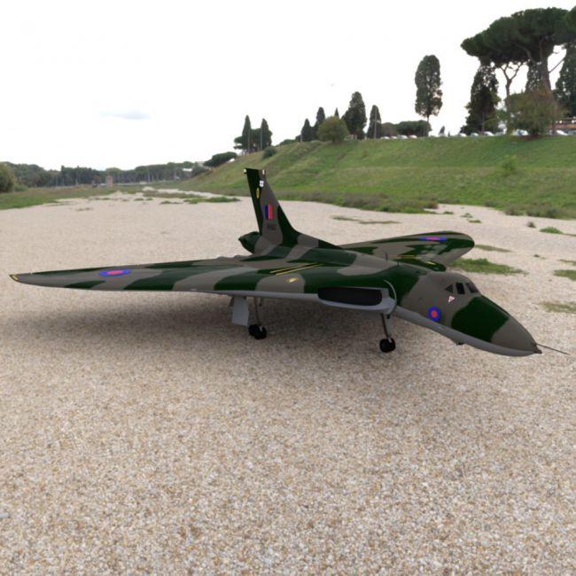 Avro Vulcan for DAZ Studio