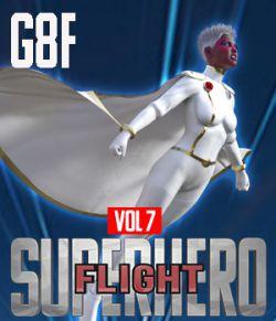 SuperHero Flight for G8F Volume 7