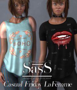 SasS Casual Friday _La Femme