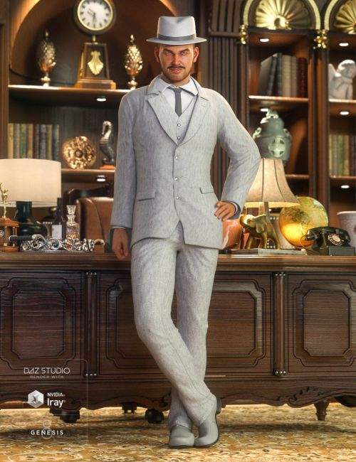 The Chairman HD Outfit for Diego 8 and Genesis 8 Male(s)
