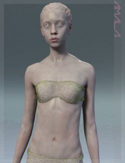Amala HD & Expression HD & Bikini for Genesis 8 Female