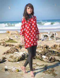 dForce Savannah Outfit for Genesis 8 Female(s)