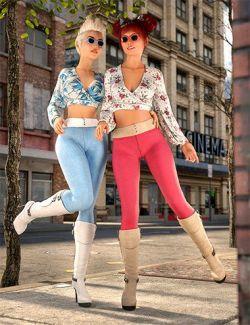 dForce City Sleek Outfit Textures