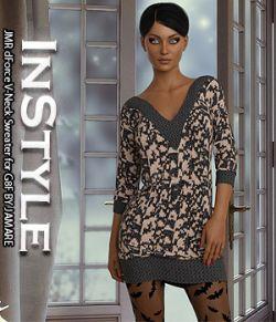 InStyle- JMR dForce V-Neck Sweater for G8F
