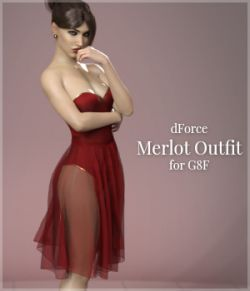 Merlot Outfit for Genesis 8 Female