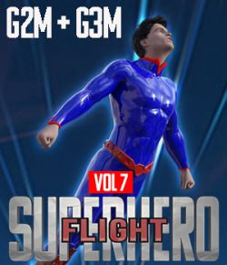 SuperHero Flight for G2M and G3M Volume 7