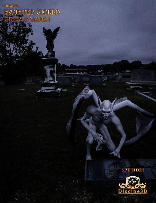 Greybro's Haunted World - Grey Garden HDRI