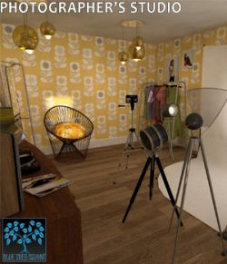 Photographer's Studio for Poser