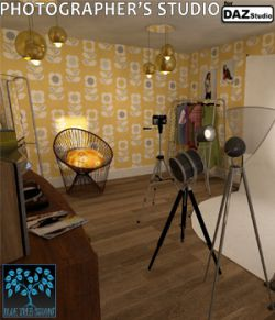 Photographer's Studio for DAZ Studio