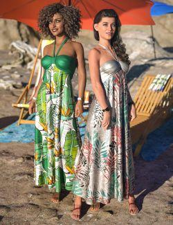 dForce Tropical Breeze Outfit Textures