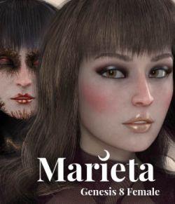 Marieta for Genesis 8 Female