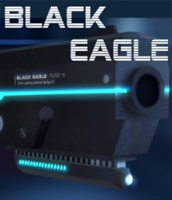 Sci-Fi Gun Black Eagle - Extended License