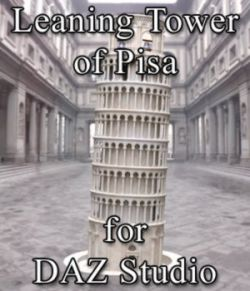 Leaning Tower of Pisa for DAZ Studio