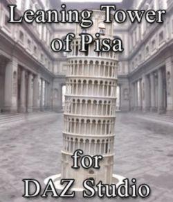 Leaning Tower of Pisa for DAZ Studio