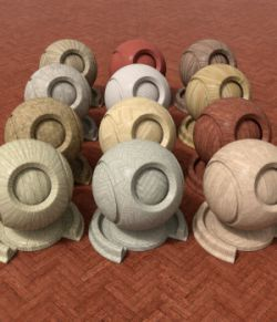 IRay Wood Shaders for DAZ Studio