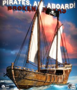 Pirates, All Aboard! Broken Anger DS