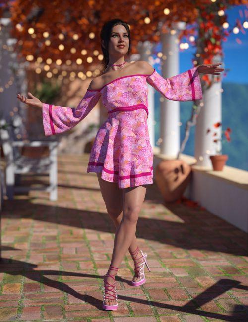 dForce Sugar Dreams Outfit for Genesis 8 Female(s)