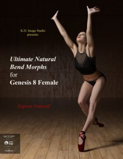 Ultimate Natural Bend Morphs for Genesis 8 Female