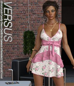VERSUS- dForce Leah Candy Dress Outfit for Genesis 8 Female(s)