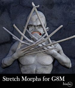 Stretch Morphs for Genesis 8 Male