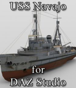 USS Navajo for DAZ Studio